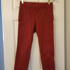 Red Pixie Pants